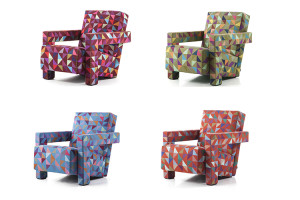 Utrecht armchair by Gerrit T. Rietveld limited edition