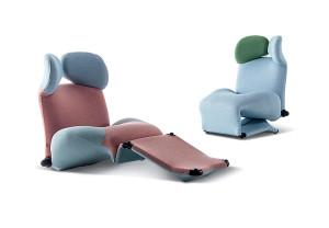 Wink armchair by Kita Toshiyuki
