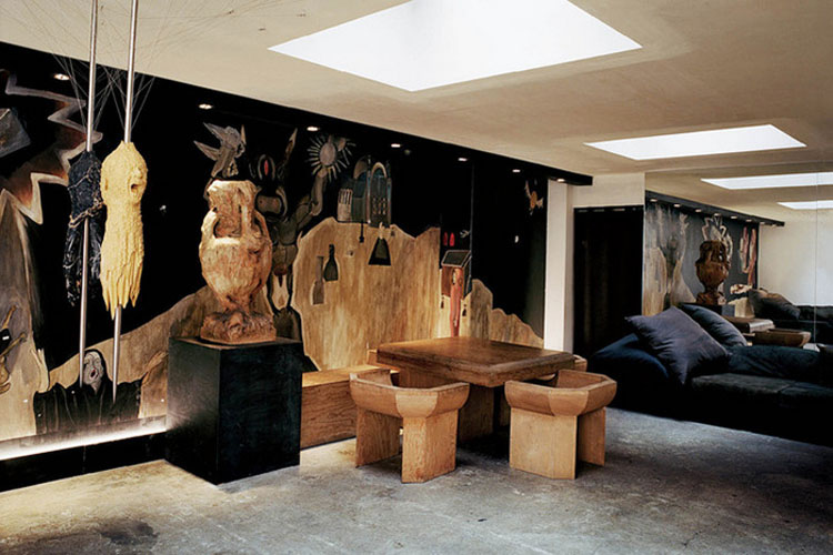 Rick Owens' Paris home