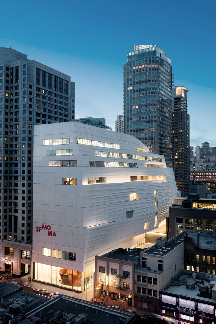Architecture's love: San Francisco MoMa
